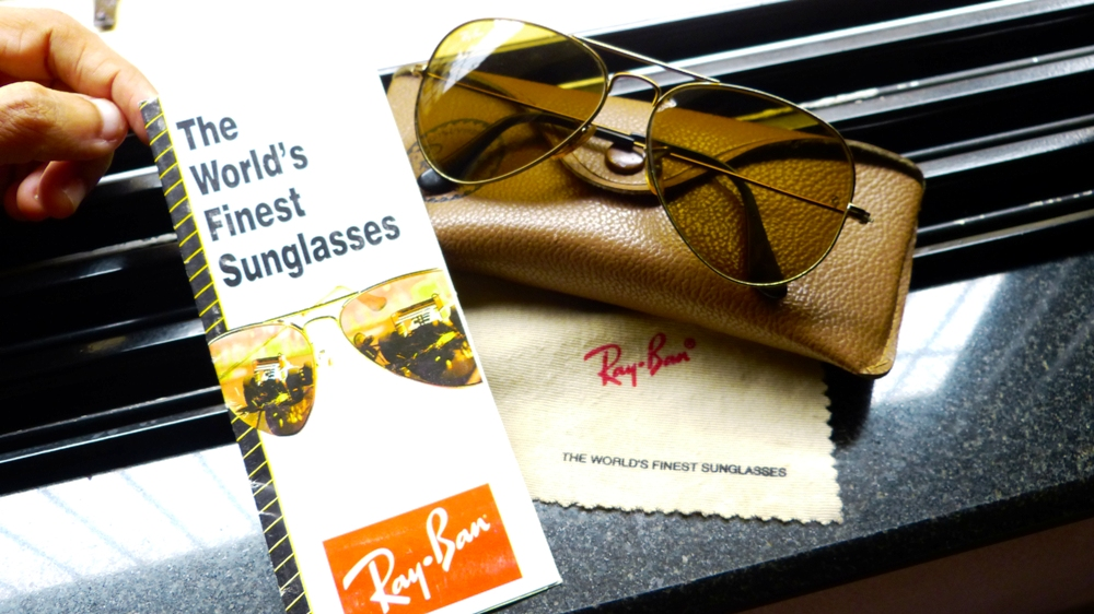 Ray-Ban with Warranty Card