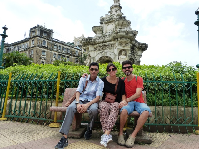 Flora Fountain Fort Mumbai